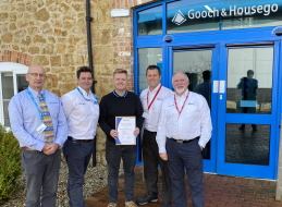 Success for G&H team leader Mark